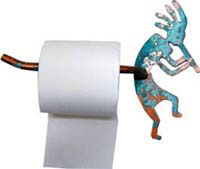 Kokopelli Toilet Paper Holder